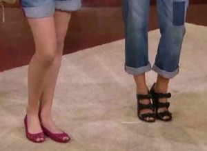 582a3b6ccb9d1 Shoe Buzz  Olsen twins on Good Morning America for Olsenboye launch ...